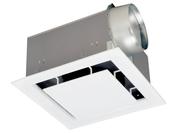 三菱 換気扇 ダクト用換気扇 低騒音スリットインテリアタイプ(クールホワイト) VD-25ZX10-X MITSUBISH