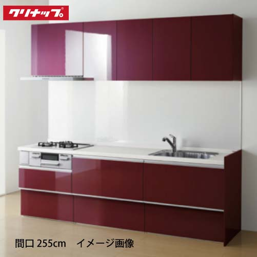 メーカー直送 クリナップ システムキッチン ラクエラ W2850 開き扉 TGシンク グランドシリーズ I型