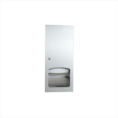 【まとめ買い】 RELIANCE  bain:コンパネ屋 [R3636] ペーパータオルボックス(埋込型) le リラインス-木材・建築資材・設備
