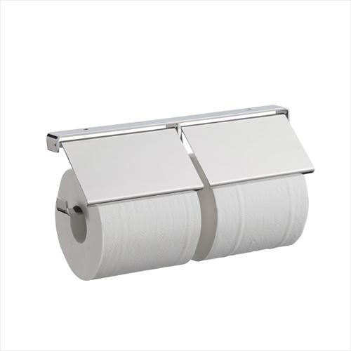 リラインス カウンター用2連ペーパーホルダー ステンレス [R9325-2] RELIANCE le bain