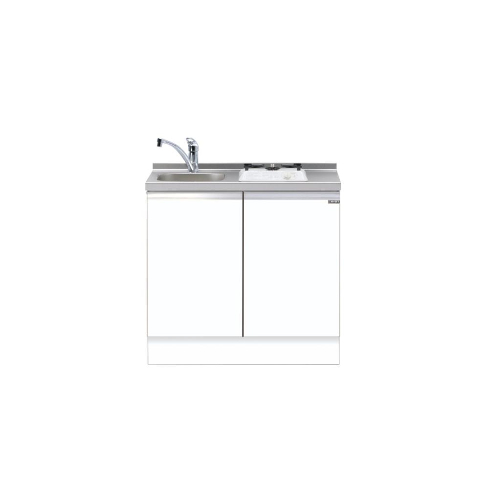 ベーシックタイプ 深型ビルトイン流し台 メーカー直送 送料無料 マイセット キッチン 単体キッチン ベースキャビネット M5-90DS1 MYSET 間口90cm 道幅4m未満配送不可 直営限定アウトレット M5 激安挑戦中