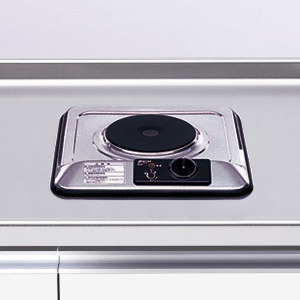 メーカー直送 【マイセット】キッチン 調理器具 IH調理器 1口電熱ヒーター[SPH-131S]【MYSET】 道幅4m未満配送不可