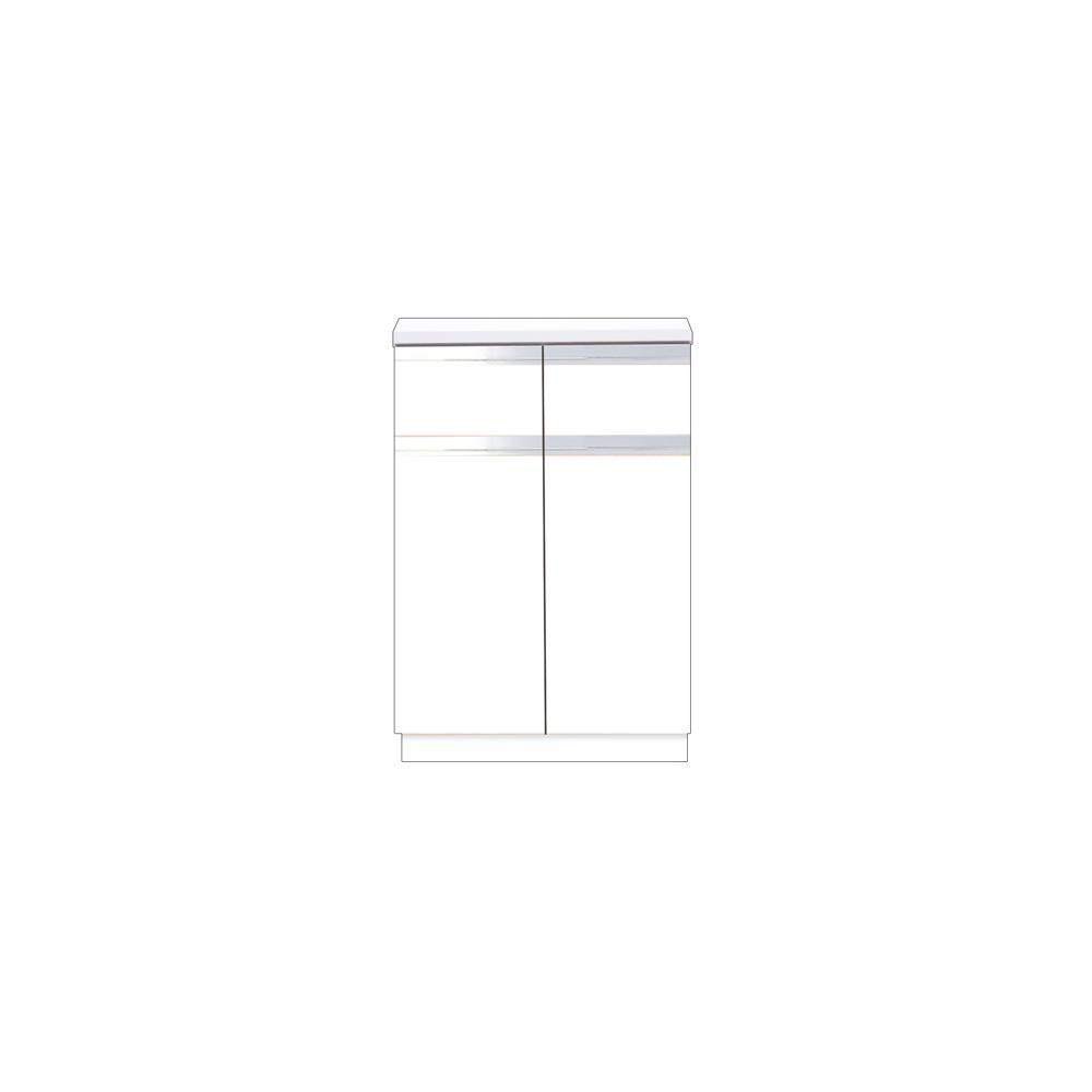 メーカー直送 【マイセット】BOX型 壁面収納 Y2 フロアユニット 据え付けタイプ 完成品 間口60cm 奥行45.5cm[Y2-60DRC*] 道幅4m未満配送不可