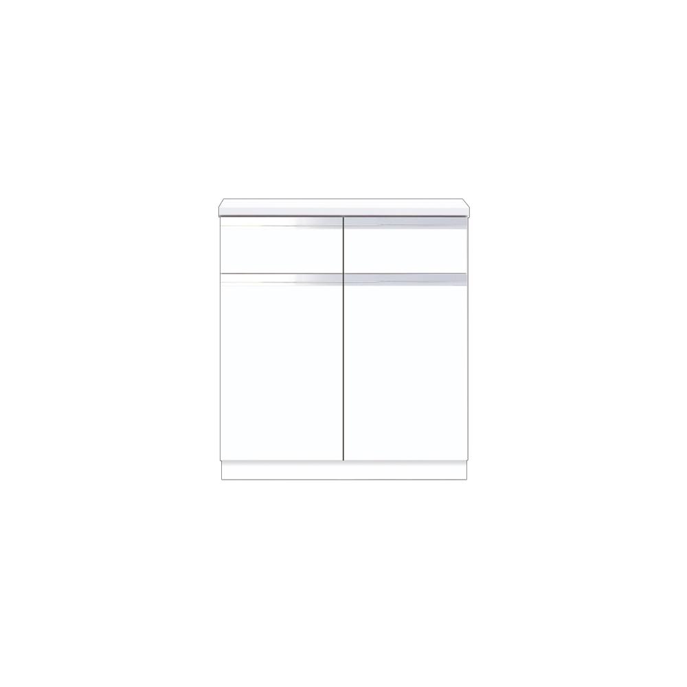 メーカー直送 【マイセット】BOX型 壁面収納 Y2 フロアユニット 据え付けタイプ 完成品 間口80cm 奥行45cm[Y2-80DRC*] 道幅4m未満配送不可