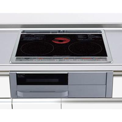 メーカー直送 送料無料 【マイセット】キッチン 調理器具 IH調理器 3口クッキングヒーター・グリル付[CS-G32M]【MYSET】 道幅4m未満配送不可