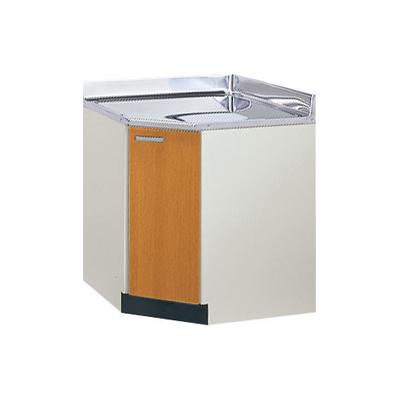 メーカー直送品 LIXIL リクシル セクショナルキッチン 木製キャビネット GSシリーズ コーナー用調理台 間口75X75cm[GS(M・E)-C-75K]