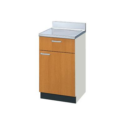 メーカー直送品 LIXIL リクシル セクショナルキッチン 木製キャビネット GSシリーズ 調理台 間口45cm[GS(M・E)-T-45Y]
