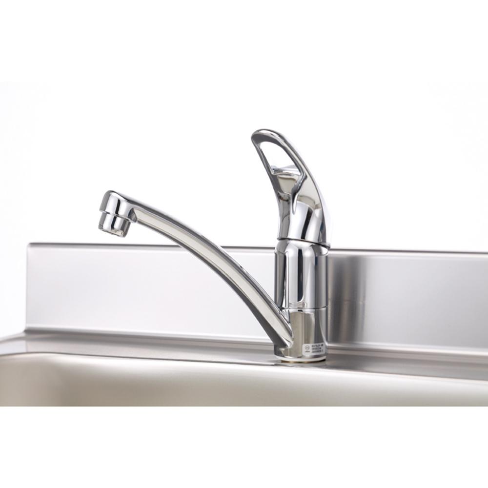 メーカー直送 【マイセット】キッチン 水栓金具 シングルレバー水栓 上面施工タイプ M1 M2 S1推奨 [SCJ-55E] 道幅4m未満配送不可