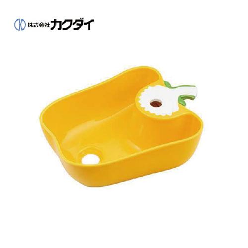 メーカー直送 カクダイ Da Reya アイキャッチ水栓 手洗器 国産パプリカ イエロー [493-157-Y]