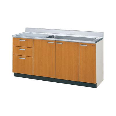 メーカー直送品 GSシリーズ メーカー直送品 LIXIL リクシル セクショナルキッチン 木製キャビネット リクシル GSシリーズ 流し台(ジャンボシンク・点検口付)間口165cm[GS(M・E)-S-165JXT(R・L)], バンビーニオンラインショップ:39504282 --- zagifts.com