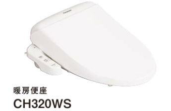 パナソニック トイレ アラウーノV 暖房便座 貯湯式 [CH320WS] Panasonic