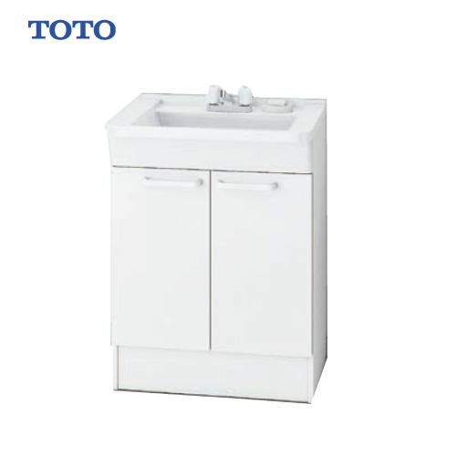 メーカー直送 TOTO Bシリーズ 洗面化粧台 下台 [LDBA060BAGCS1A] 600mm 2ハンドル混合水栓