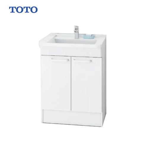 メーカー直送 TOTO Bシリーズ 洗面化粧台 下台 [LDBA060BAGMN1A] 600mm エコシングル混合水栓