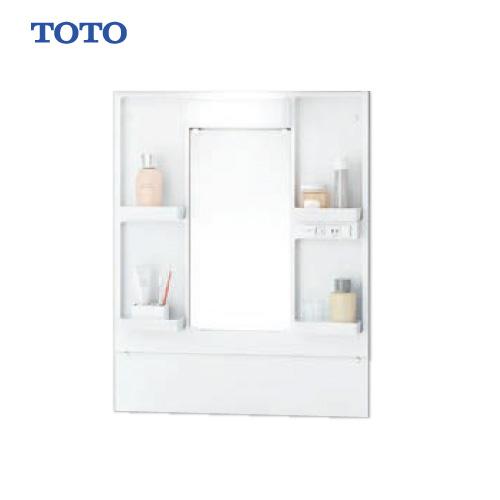 メーカー直送 TOTO Bシリーズ 洗面化粧台 一面鏡 [LMBA060B1GDG1G] 600mm LEDランプ エコミラーなし