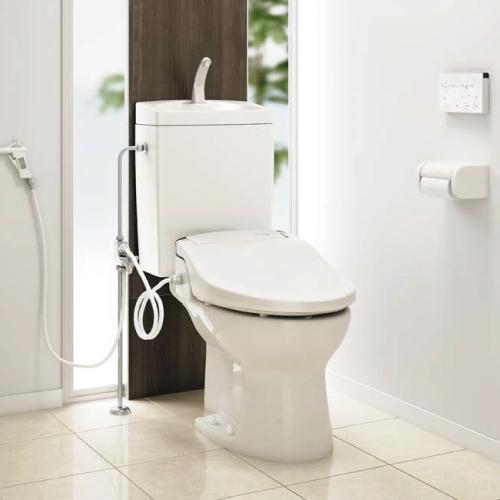 メーカー直送 アサヒ衛陶 簡易水洗トイレ [RMA001I] サンクリーン 手洗付+壁給水+普通便座セット