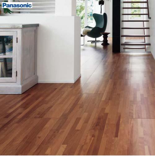木のピースを組み合わせ、デザイン性の高い床材 パナソニック 一般住宅用 アーキスペックシリーズ アーキスペックフロアーW パーケットA ランダムボーダー [KEAWV1S**] 1ケース6枚入(3.3平米) 送料別途見積