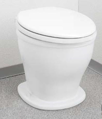 メーカー直送 アサヒ衛陶 非水洗トイレ [RPA001W] 腰掛便器+普通便座セット