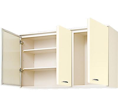 メーカー直送品 LIXIL リクシル セクショナルキッチン HRシリーズ 吊戸棚 間口120cm[HR(I・H)2AM-120]高さ70cm