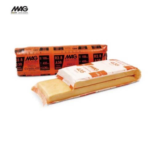 メーカー直送 MAG オランジュ 住宅用断熱材 [CV1605J-435] 厚さ×幅×長さ(mm):105×435×2880 入数8枚