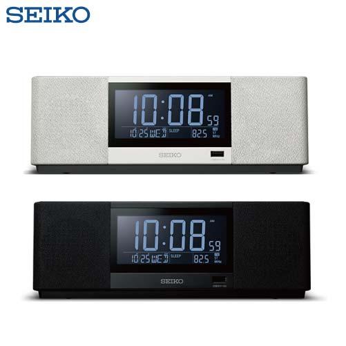 SEIKO 新世代スピーカークロック マルチサウンドクロック [SS501*] カラー:ホワイト(A)・ブラック(K)