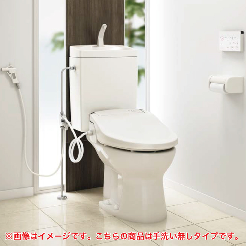 メーカー直送 アサヒ衛陶 簡易水洗トイレ [RMA004I] サンクリーン 手洗無し+床給水+普通便座セット