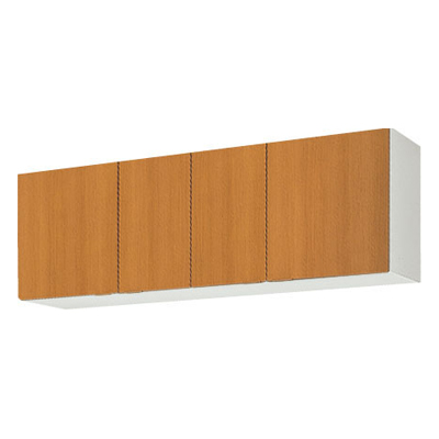 メーカー直送品 LIXIL リクシル セクショナルキッチン 木製キャビネット GSシリーズ 吊戸棚 間口150cm[GS(M・E)-A-150]高さ50cm