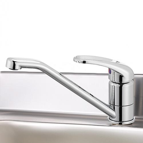 メーカー直送 マイセット 水栓金具 シングルレバー水栓 [SC-55A] シルバー M1 M2 S1シリーズ用 道幅4m未満配送不可