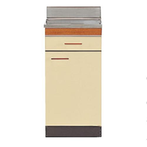 【法人様限定】 メーカー直送 ニッサンハロー 流し台 S-TYPS 奥行550mm 大型ゴミ収納器付 調理台 [SS55-35T] 間口350【関西一部エリア限定発売】