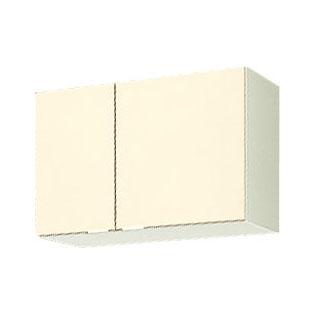 メーカー直送品 LIXIL リクシル セクショナルキッチン 木製キャビネット GKシリーズ 吊戸棚 間口75cm[GK(F・W)-A-75]高さ50cm