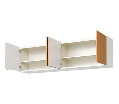 メーカー直送品 LIXIL リクシル セクショナルキッチン 木製キャビネット GSシリーズ 吊戸棚 間口180cm[GS(M・E)-A-180]高さ50cm