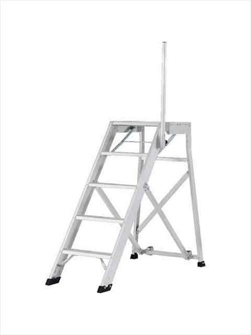 メーカー直送【法人様限定】 アルインコ(ALINCO)作業台 折りたたみ式作業台(背面キャスター、安全手掛かり棒標準装備)天板高さ1.25m [CSD-125F]