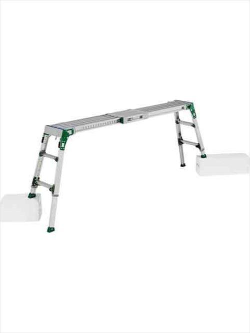 メーカー直送【法人様限定】 アルインコ(ALINCO)足場台 伸縮天板・伸縮脚付足場台 VSR-FX [VSR-1709FX] 詳細は商品説明をご確認ください