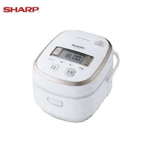 シャープ IHジャー炊飯器 [KS-SH10A-W]1.0L(5.5合) ホワイト系 SHARP あすつく
