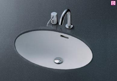 TOTO L548U 楕円形洗面器(アンダーカウンター式)600×420実容量14.0L