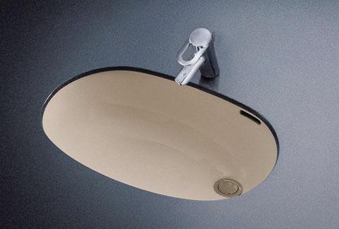 メーカー直送 TOTO L587U 楕円形洗髪洗面器 620×430実容量16.0L