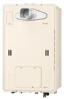 送料無料 ガス給湯暖房熱源機RUFH-TE1613AT2-3(A) 給湯+おいだき+暖房 タイプ 排気バリエーションエコジョーズPS標準/PS扉内設置型 フールオート16号リンナイ