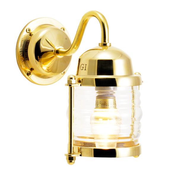 <title>ゴーリキアイランド 真鍮 ブラケットランプ クリアガラス LEDランプ 新作からSALEアイテム等お得な商品 満載 BR1710 CL LE 金色 アンティーク ブラス 雑貨 700472</title>