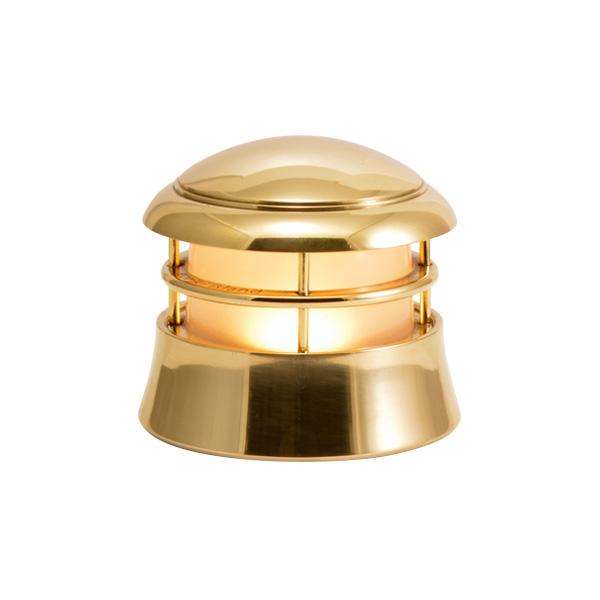 評価 ゴーリキアイランド 真鍮 マリンランプ くもりガラス LEDランプ BH1010LOW FR アンティーク 雑貨 750122 LE おすすめ ブラス 金色