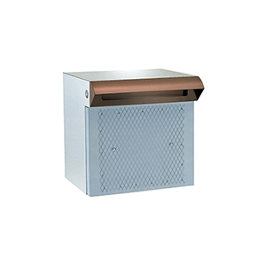 メーカー直送 HSK ポスト 戸建用 ステンレス ポスト差入口 [673-T] ハッピー金属