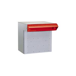 ハッピー金属 HSK 戸建用 ポスト ステンレス [676-R] ポスト差入口