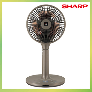 扇風機 3Dファン [PJ-G2DS-T] プラズマクラスター 空気浄化 消臭 除電 シャープ SHARP