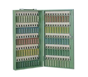 タチバナ製作所C-100 キーボックス Cタイプ携帯・壁掛兼用 グリーン色 鍵100本用