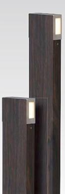 【法人様限定商品】タカショー Takasho HBC-D16E ARTWOODスリムポールライト 4型ブラックエボニー(電球色) W88×D32×H300 代引き不可