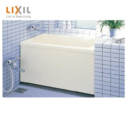 メーカー直送 送料無料 LIXIL 浴槽 ポリエック [PB-1102AL/L11-J2(左排水) PB-1102AR/L11-J2(右排水)] 1100サイズ 和洋折衷タイプ 1方全エプロン
