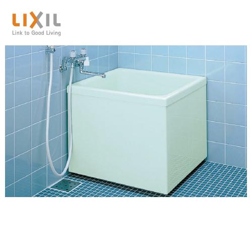 メーカー直送 送料無料 LIXIL 浴槽 ボリーナ [PB-762CM/410] 60サイズ 和風タイプ 3方全エプロン 巻フタ付 リクシル