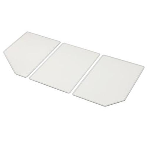 メーカー直送 クリナップ [SAP-C16KH(R/L)] ラウンド半身浴浴槽用 組フタ W154xD76.5xH1.1cm