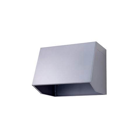 受注生産品 納期約1週間 高須産業 外部フード [WBB-90A(G)] レンジフード90組立式フードボックス シルバー