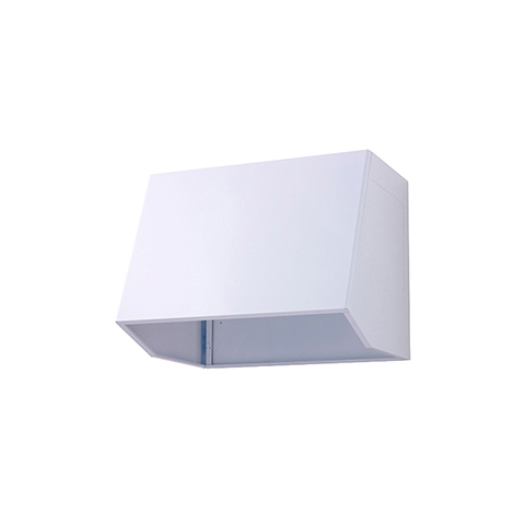 高須産業 外部フード [WBB-90A(W)] レンジフード90組立式フードボックス ホワイト