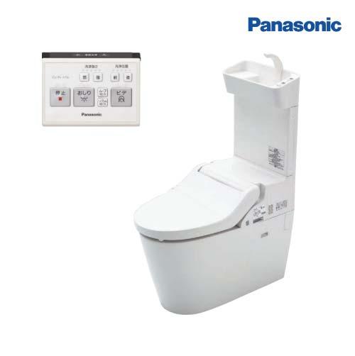 【納期約1週間】 送料無料 パナソニック トイレ NEWアラウーノV 手洗い付き V専用トワレ新S5 壁排水タイプ 120タイプ 受注生産品[XCH3015PWST] Panasonic