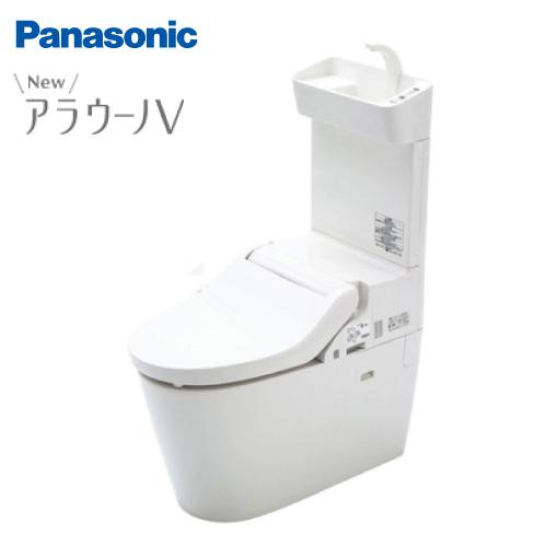 メーカー欠品中 納期約2週間 送料無料 パナソニック トイレ NEWアラウーノV 手洗い付き 暖房便座 床排水タイプ リフォームタイプ[XCH3018RWST] Panasonic